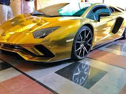 Lamborghini manufacturer of luxury sports cars and suvs. A Gold Lamborghini Arrives In Pakistan Pakistan Gulf News