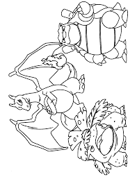 Coloring Pages Pokemon Charizard Knockout Pokemon Coloring Pictures