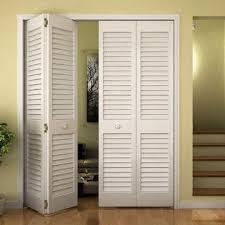 InandOuthome Closet Door, Bi-fold, Louver Louver Plantation White (24x80)