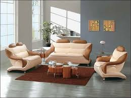 Unique Leather Sofas Bean Bag Chair Chaise European Style Set