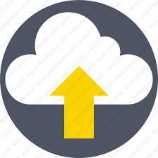 Download Cloud Upload Data Send Share Icon Inventicons