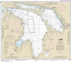Great Lakes Navigation Charts Noaa Chart 14860 Lake Huron