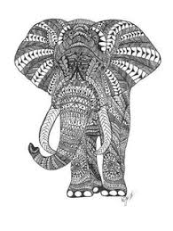 Small Picture Floral elephant Coloring Pages for Adults download hd elephant