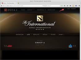 dota 2 website logging you in as a random user that is not my