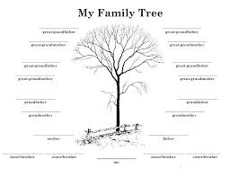 Family Tree With Pictures Template Unique Cute Free