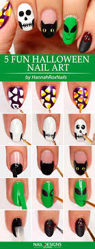Easy Halloween Nail Art Tutorial Images - Nail Art and Nail Design ...