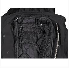 mfh us field jacket m65 black