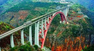 Знаменитые мосты мира Мост соединяет две горы в Китае