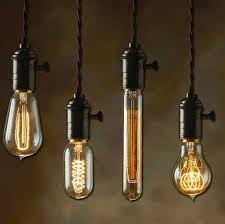 contemporary lighting. hanging light bulbs edison nostalgic lighting interior design exterior contemporary