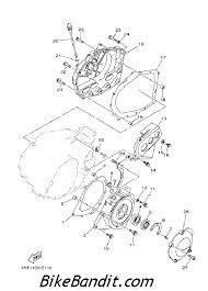 diagram of 2000 yamaha raptor 660 engine motorcycle schematic images of diagram of yamaha raptor engine 2005 yamaha raptor 350 yfm350rt crankcase cover 1