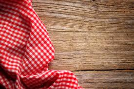picnic table background. checkered tablecloth on wooden table picnic background t