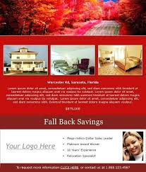Real Estate Email Flyers Templates Example Flyer Email Flyer