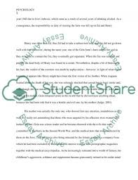 Sleep disorder psychology research paper WriteOnline ca