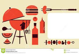 barbecue party invitation templates cloudinvitation com bbq party invitation template royalty stock photo