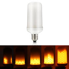 Led Burning Light Flicker Flame Light Bulb Fire Effect Bulb Led Flame Effect Fire Light Bulbscreative Lights With Flickering Emulation
