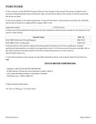 2010 toyota prius service repair manual ALDL Wiring Schematic 2010 toyota prius repair manual foreword  this is volume 1 of the 2010 prius manual