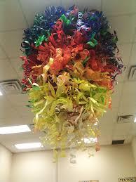 recycled plastic bottle chandelier mobile linda larson on light fixtures bottle part 14