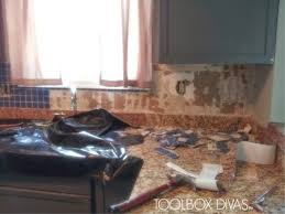 Removing Tile Backsplash Enchanting Tile Removal 48 Remove The Tile Backsplash Without Damaging The