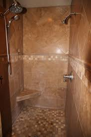 ... Remarkable Walk In Showers With Seats Shower With Seat Built In Shower  Stall With ...
