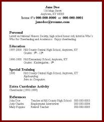 How To Create A Great Resume How To Create A Resume For A Teenager How To Create A Resume For A