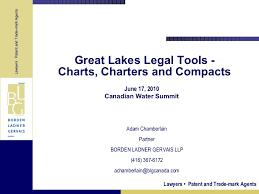 Adam Chamberlain Borden Ladner Gervais Llp Great Lakes