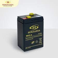 Bình ắc quy khô 6V-5Ah thay thế cho quạt sạc đèn sạc Honjianda giá cạnh  tranh