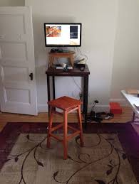 Inspiring Diy Standing Desk Converter Ideas For Small Spaces