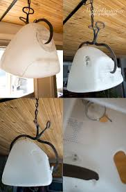 A great upcycled iMac, made into a hanging lamp.