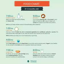 10 Month Baby Food Chart Can Anybody Share Food Chart For 9 To 10 Month Old Baby