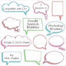Photoshop Speech Bubble 211 Speech Bubble Brushes Free Abr Format Download