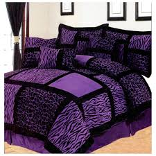 Purple And Zebra Bedroom Black And Purple Bedding Purple Bedding Sets A Royal Bedroom Decor
