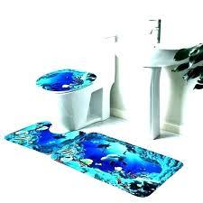navy blue bathroom rugs decor royal and set bath rug grey sets