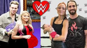 Becky lynch has announced the birth of her first child with fellow wwe star seth rollins. Alexa Bliss Pregnant Becky Lynch Gives Birth 10 Wwe Couples Starting A Family Youtube