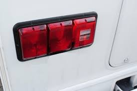 replacing the leaking tail lights the manufacturer of my coach wired the lights wrong they wired the turn signal brake lights to the low brightness bulb and the tail lights to the bright