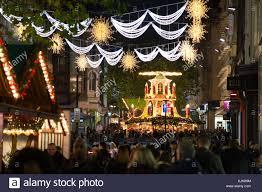 Christmas Lights Birmingham 2017 The Frankfurt Christmas Market 2017 In Birmingham Uk Stock