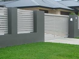 concrete fence design.  Concrete Modern Concrete Wall Fence Design Philippines  Picts Of Fences Made Brick An Wood Designs  With B