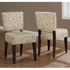 savannah damask dining chairs set of 2