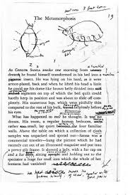 metamorphosis tutorial study guide and critical commentary mantex vladimir nabokov s copy of metamorphosis
