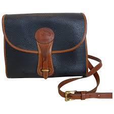 vintage dooney bourke all weather leather cross shoulder bag historique ruby lane