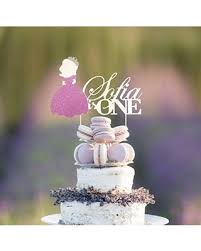 Big Deal On Princess Cake Topper Personalized Age And Name Cake
