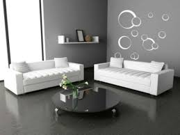 Wallpaper Idea For Living Room Living Room Modern Contemporary White Sectional Lounge Sofa
