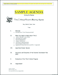 Strategic Planning Meeting Agenda Template Archives Free