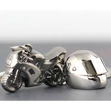 clic 3d simulation model motorcycle motorbike keychains creation alloy helment keyring trinket key holder gifts car keychainkey chains