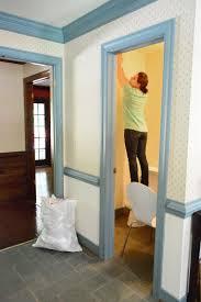 using hot water to strip wallpaper