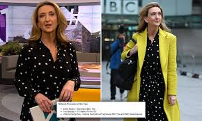 In a statement to cnn, derbyshire explained that she had written the number on her hand to tweet a photo of it before the bbc broadcast. Victoria Derbyshire Is Shortlisted For String Of Royal Television Society Awards Daily Mail Online