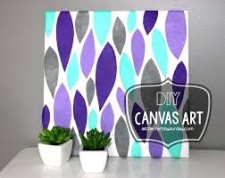 diy canvas art little craft your daya day