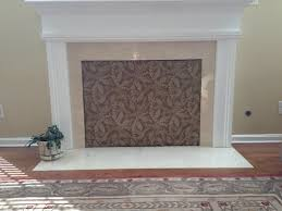 cover fireplace opening think