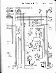 57 65 ford wiring diagrams 1964 6 v8 fairlane left