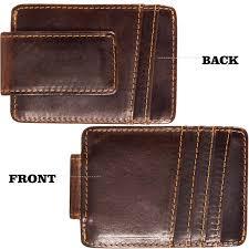Designer Money Clip Wallet With Card Holder Mens Bags Wallets Mens Money Clip Wallet Genuine
