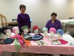 Not Just Any Hat; Ozark Piecemakers Quilt Guild Sews Headwear for ... & Sue Griffith and Sonja Johnson with the Ozark Piecemakers Quilt Guild. Adamdwight.com